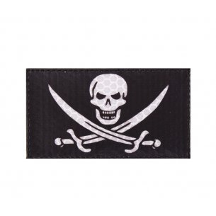 Combat-ID Velcro patch - Bad Calico Jack (BCJ-BLK)  - Black