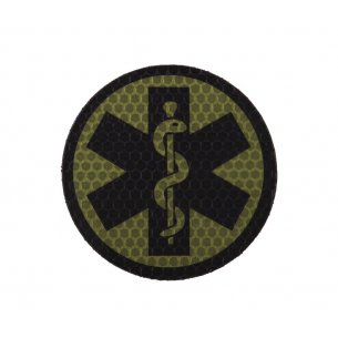 Combat-ID Velcro patch - Esculap (ESC-OD) - Olive Drab