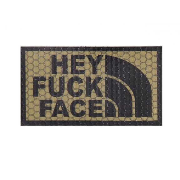Combat-ID Velcro patch -Hey Fuck Face...