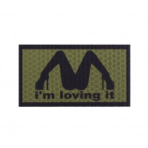 Combat-ID Velcro patch - I'm Loving It - Olive Drab (ILI-OD)