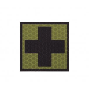 Combat-ID Velcro patch - Cross - Olive Drab (F1-OD)