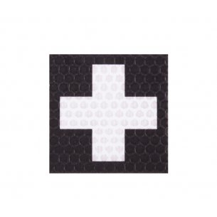 Combat-ID Velcro patch - Cross - Black (F1-BLK)