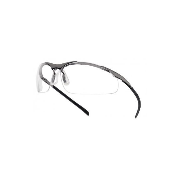 Bollé Safety spectacles CONTOUR METAL ( CONTMPSI ) - Clear