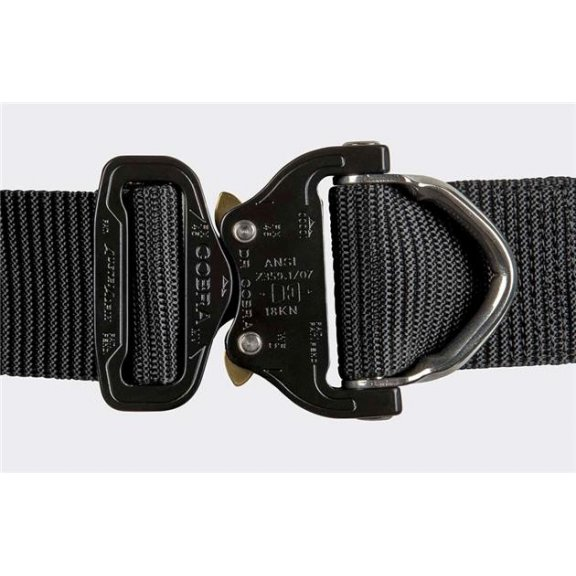 Helikon-Tex® COBRA D-Ring (FX45) Tactical Belt - Black