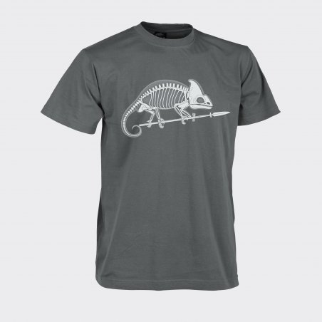 Helikon-Tex® CHAMELEON SKELETON Classic Army T-shirt - Cotton - Shadow Grey