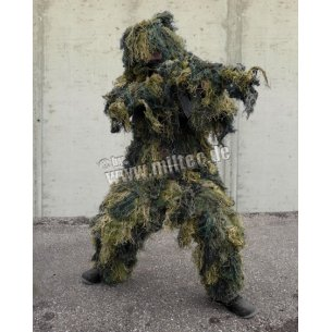 Mil-Tec® GHILLIE Suit camouflage - Woodland