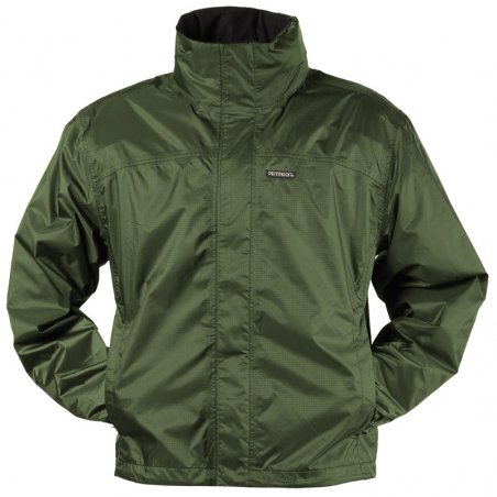 Atlantic Rain Jacket - Olive Green