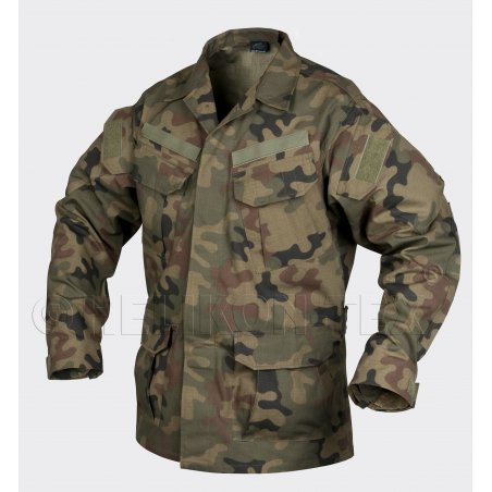 Helikon-Tex® SFU ™ (Special Forces Uniform) Jacke - Ripstop - PL Woodland