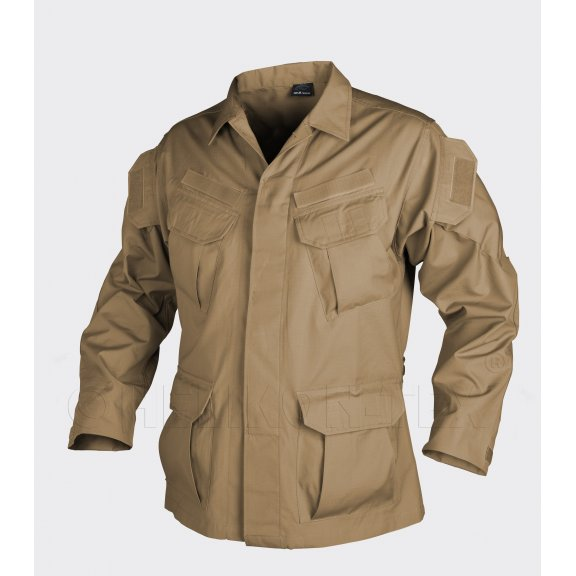 Helikon-Tex® SFU ™ (Special Forces Uniform) Jacke - Ripstop - Coyote / Tan
