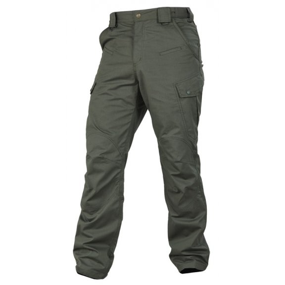 Leonidas Trousers / Pants - Ripstop - Camo Green
