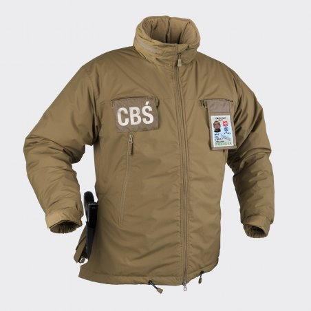 HUSKY Winter Tactical Jacket - Climashield® Apex ™ - Coyote / Tan