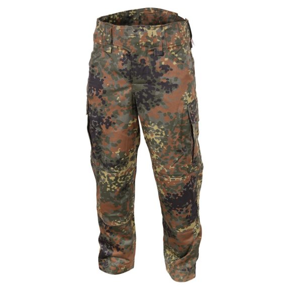 Explorer Trousers / Pants - Twill - Flecktarn
