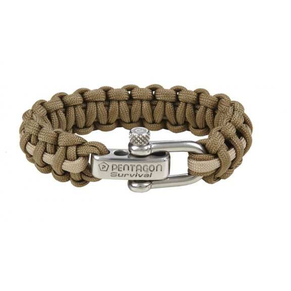 Pentagon Tactical Survival Bracelet - Coyote-Beige