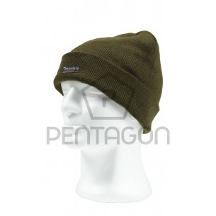 Pentagon Watch Cap with Thinsulate Liner - Olive Green