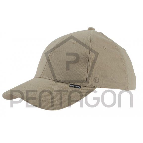 Pentagon Baseball Cap - Cotton - Beige / Khaki