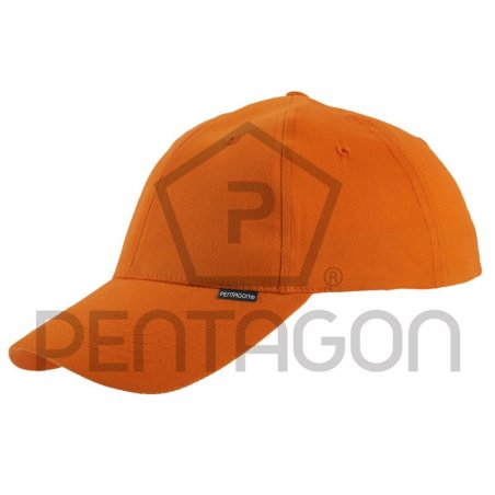 Pentagon Baseball Cap - Cotton - Orange