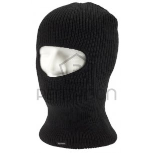 One Hole Balaklava - Cotton - Black