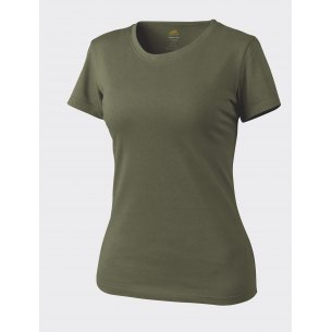 Women's T-shirt - Cotton - Olive Green