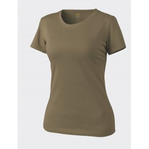 Frauen T-shirt - Baumwolle - Coyote / Tan