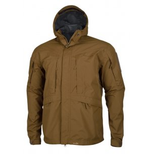 Pentagon Monsoon Rain-Shell Jacket - Coyote / Tan
