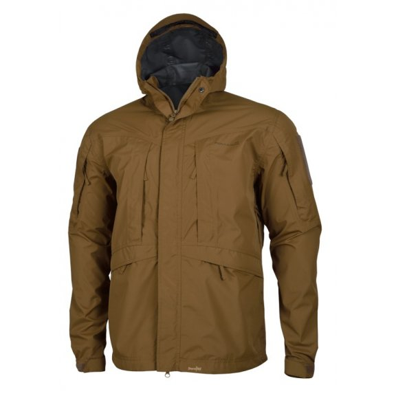 Monsoon Rain-Shell Jacket - Coyote / Tan