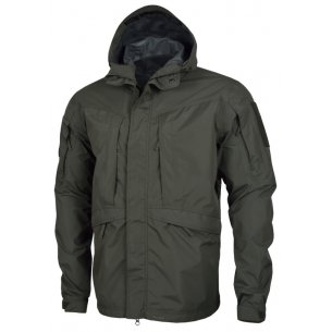 Pentagon Monsoon Rain-Shell Jacket - Grindle Green