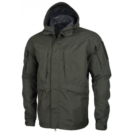 Monsoon Rain-Shell Jacket - Grindle Green