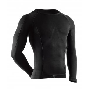 Tervel COMFORTLINE Men's long sleeve shirt (COM 1001) - Black