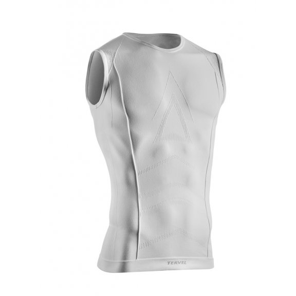 Tervel COMFORTLINE Men's sleeveless shirt (COM 1201) - White