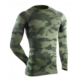 Tervel OPTILINE TACTICAL Men's long sleeve shirt (OPT 1003) - Military / Grey