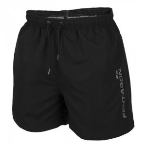 Pentagon HIPPOCAMPUS Swimming shorts -Black