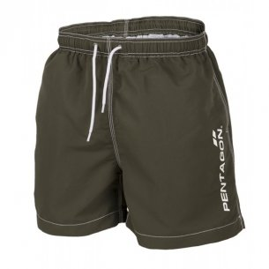 Pentagon HIPPOCAMPUS Swimming shorts - Olive