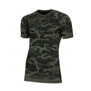 Spaio T-shirt K/R Survival Line W01 - Military / Grey