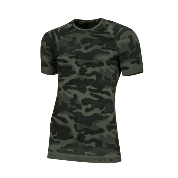 Spaio T-shirt Survival Line W01 - Military / Grey