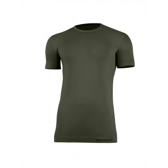 Spaio T-shirt K/R Survival Line W01 - Olive Green