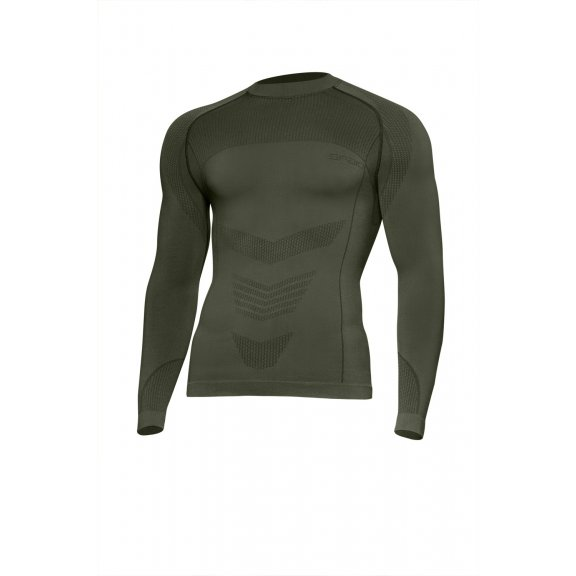 Spaio Shirt D/R Survival Line W03 - Olive Green
