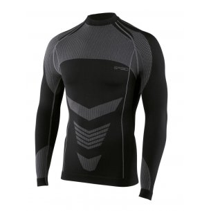 Spaio Shirt D/R Thermo Line W03 MEN's - Black/Grey