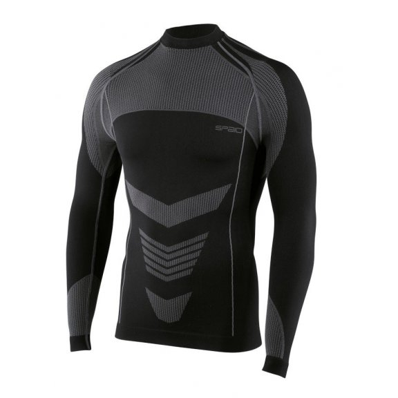 Shirt D/R Thermo Line W03 MEN's - Black/Grey