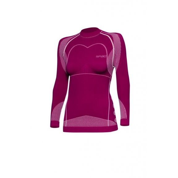 Spaio Shirt D/R Thermo Line W03 WOMEN - Violet