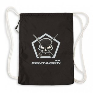 Pentagon MOHO Gym Bag - Skull - Black