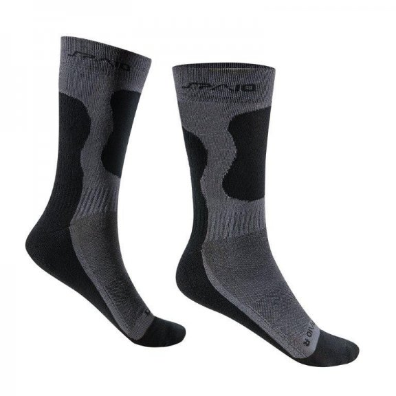 Spaio Trekking socks BAMBOO -  Black / Grey