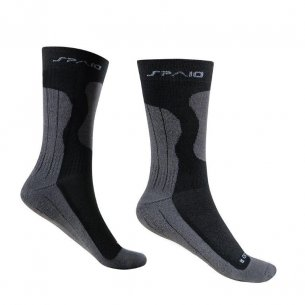 Trekking socks BAMBOO -  Black / Dark Grey