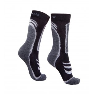 Spaio Trekking socks THERMOLITE - Black / Dark Grey