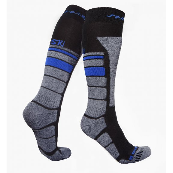 Thermo Ski socks THERMOLITE - Black / Grey / Blue