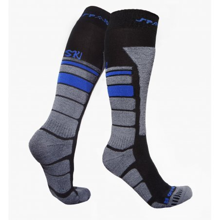 Spaio Thermo Ski skarpety THERMOLITE - Black / Grey / Blue