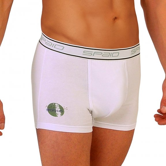 Spaio MEN's Boxers Shorts BMS 04 - White