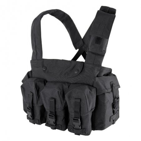 CR 7 Pocket Chest Rig (CR-002) - Black