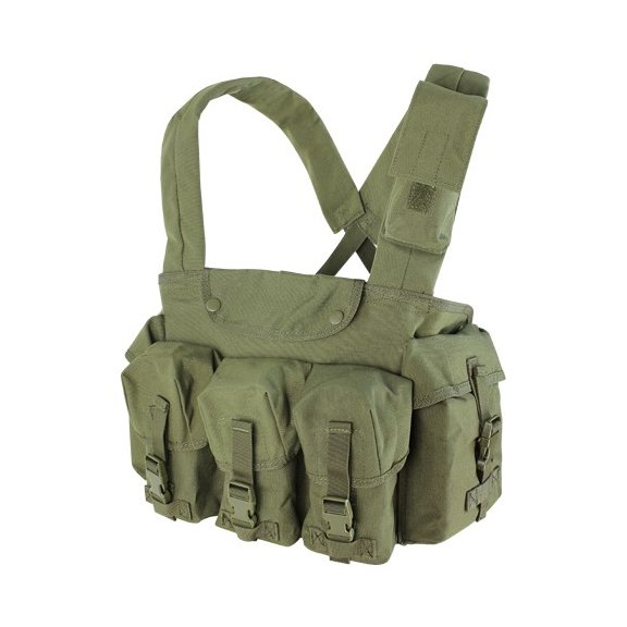 CR 7 Pocket Chest Rig (CR-001) - Olive Drab
