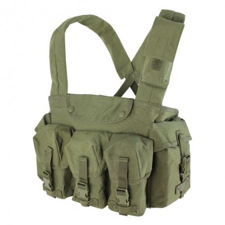 Condor® CR 7 Pocket Chest Rig (CR-001) - Olive Drab