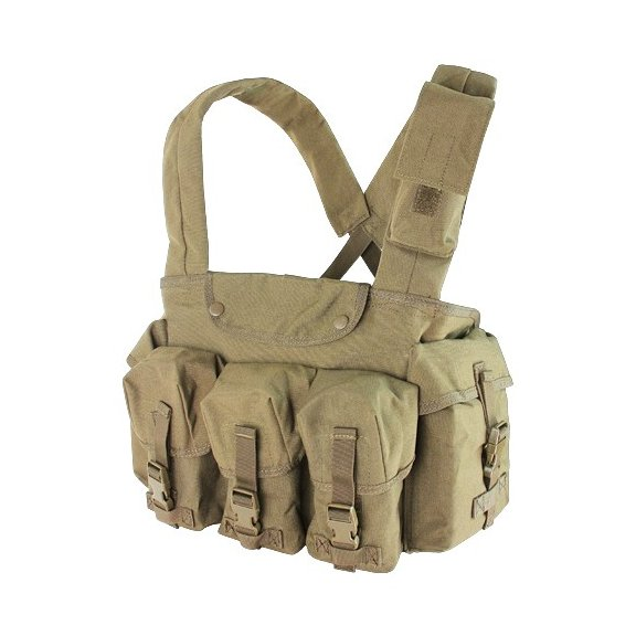 Condor® 7 Pocket Chest Rig (CR-003) - Coyote / Tan